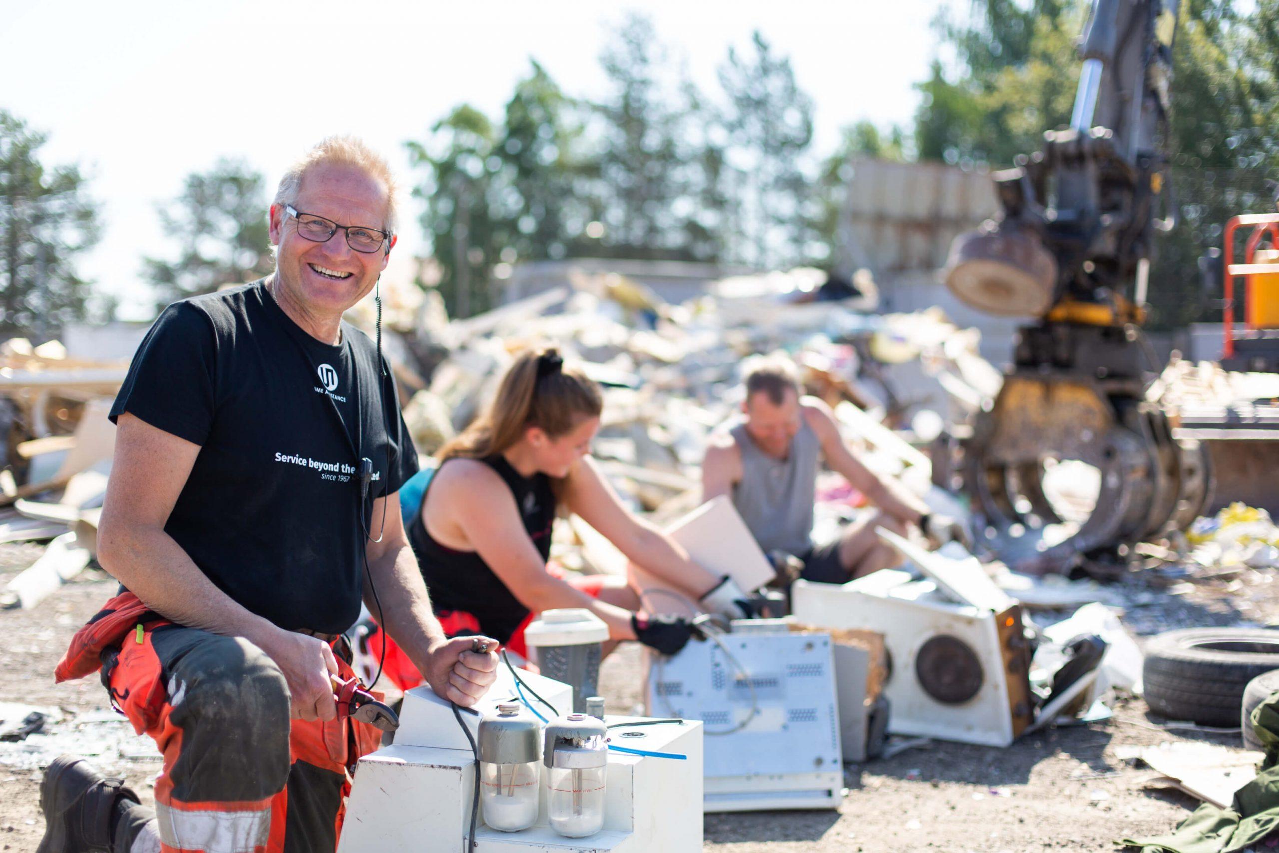 Återvinning ume assistance